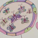Бабочки в оформлении Игровой комнаты в Студии Детского Развития