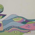 Роспись стены в оформлении Игровой комнаты в Студии Детского Развития
